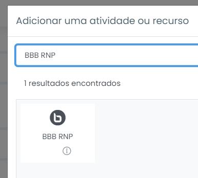 Selecione BBB RNP
