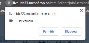 Conceder Permissão para Webcam
